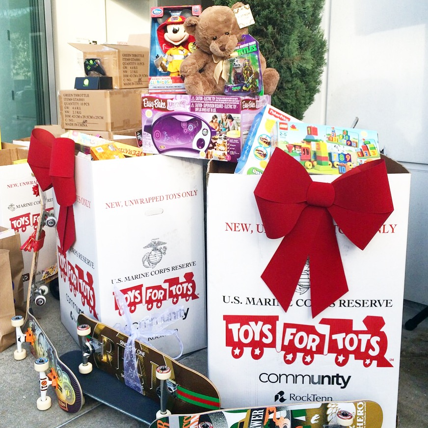 Toys For Tots Community : Toys for tots the bay club