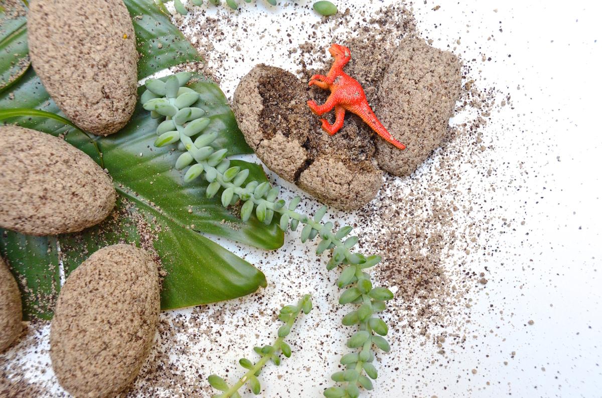 Dino-Mite DIY: Dino Eggs