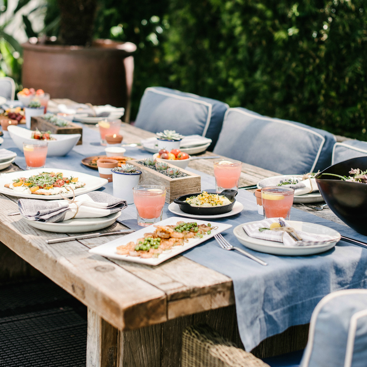 DIY Citronella Candles + Four More Table Additions