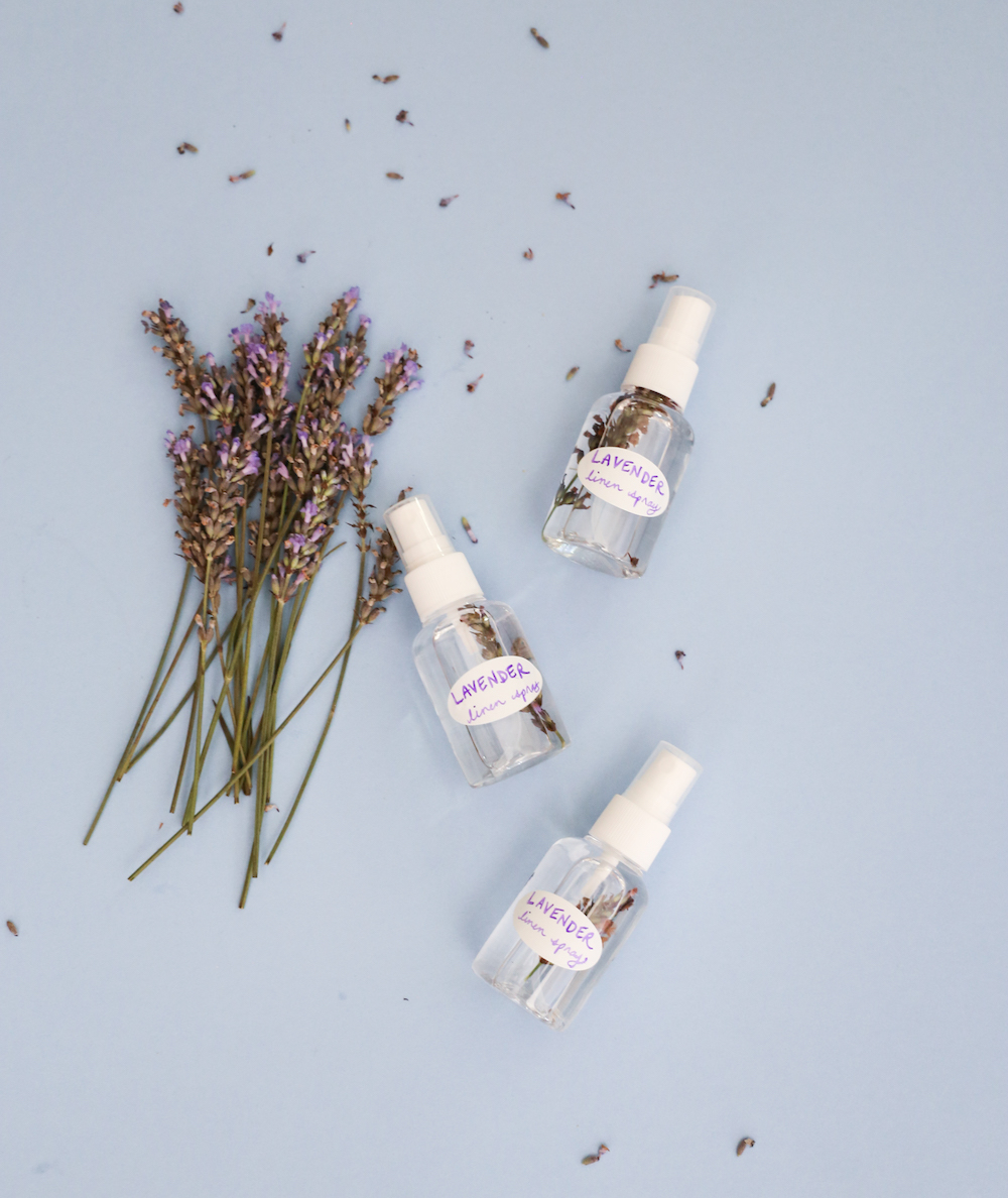 Lavender Linen Spray DIY