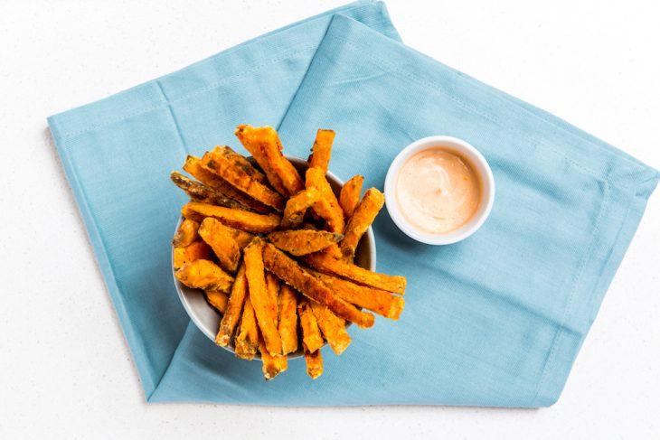 A Sweet (Potato) Series: Sweet Potato Fries