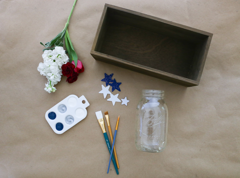 Tools needed to make centerpiece