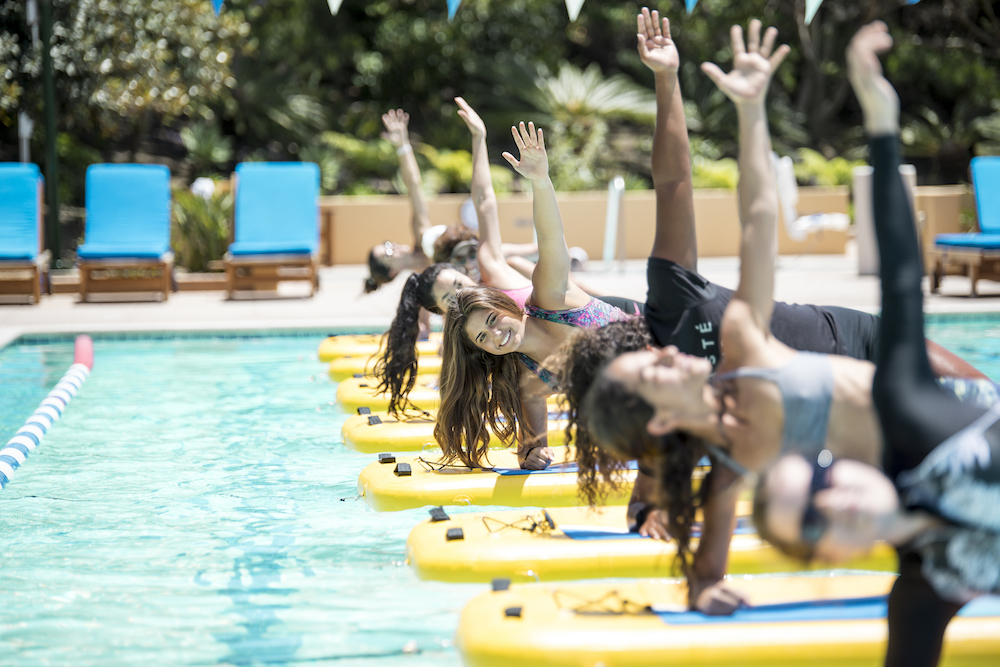 Meet GlideFit—a New Workout at a Pool Near You