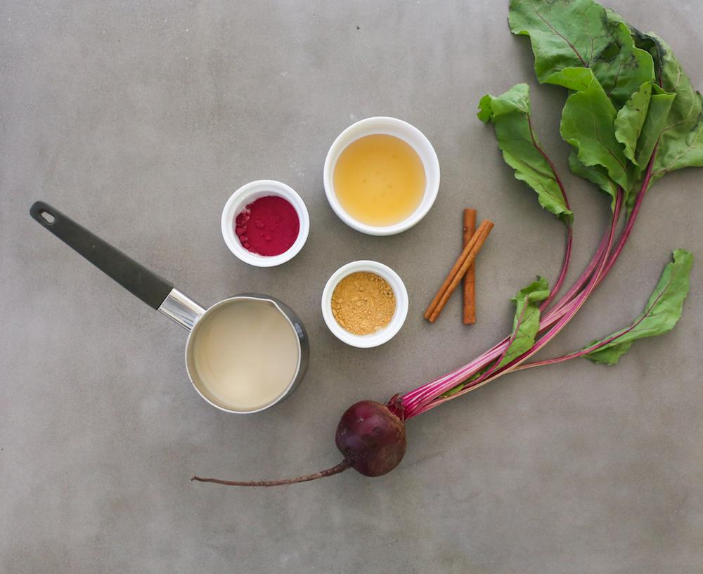 ingrediants for beets