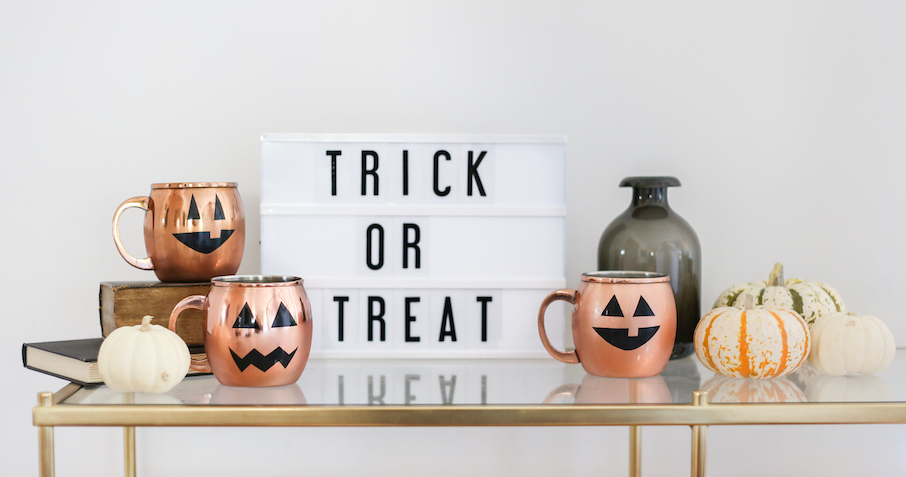 Eat Drink and Be Scary: Jack-O'-Lantern Mugs