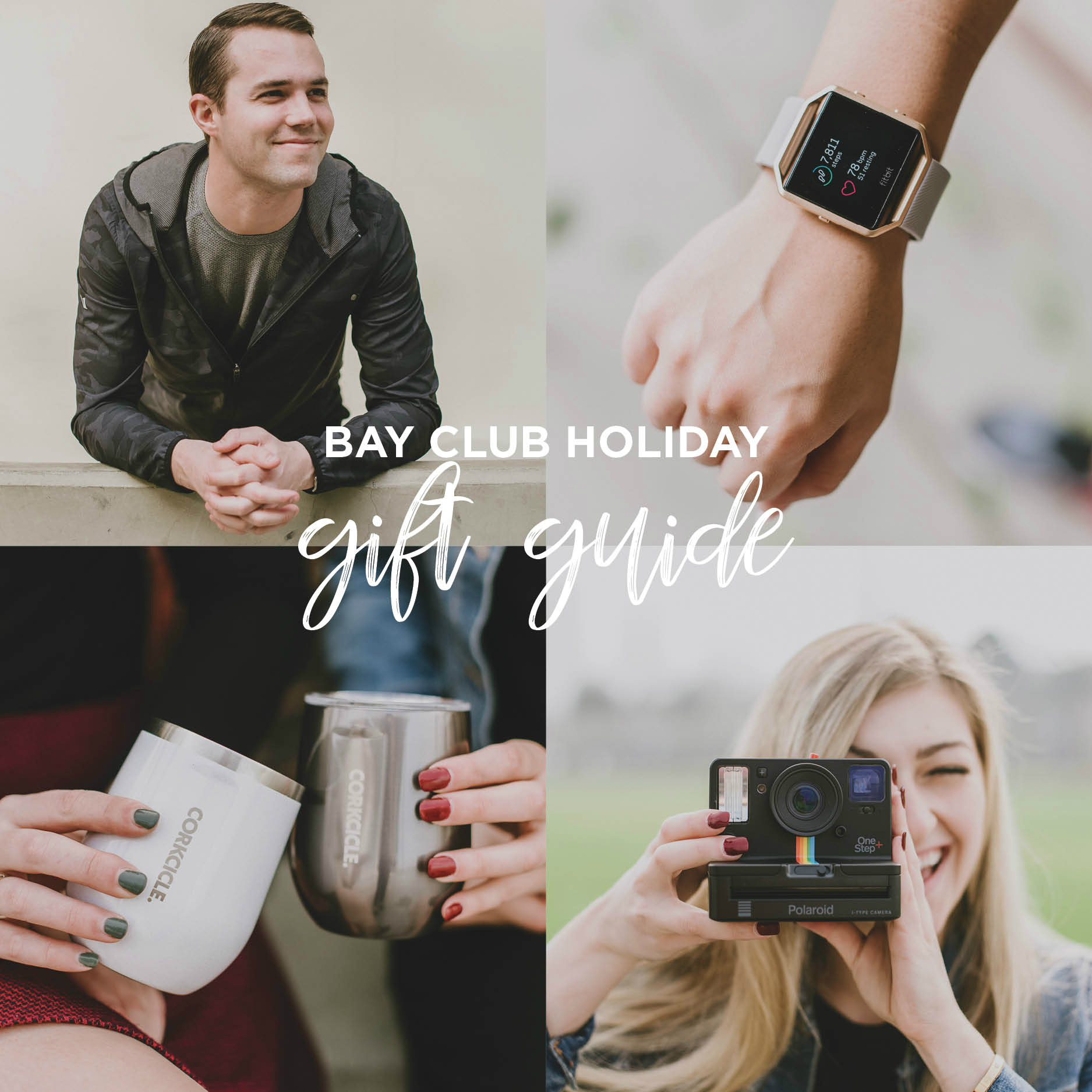 Bay Club's Gift Guide for the Holidays