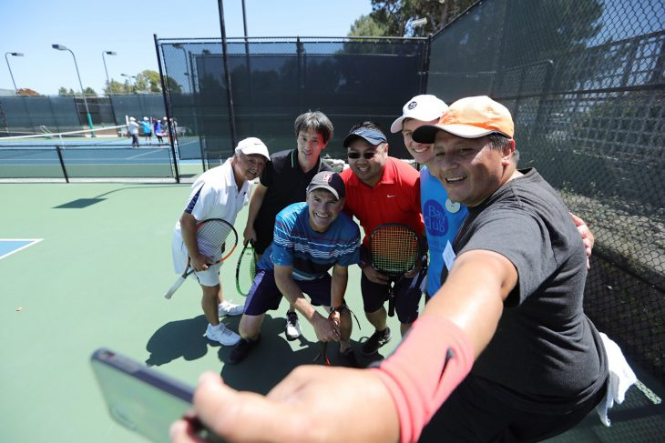 In Pictures: A Taste of Wine and Tennis