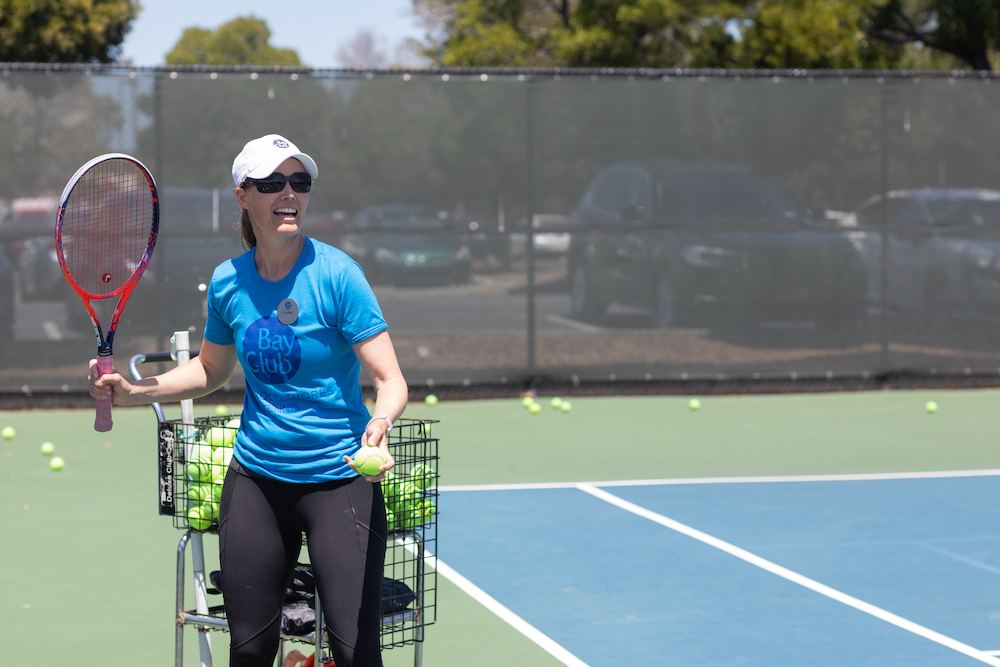 Improve your Tennis Game & Tire out your Dog with Claire Carter