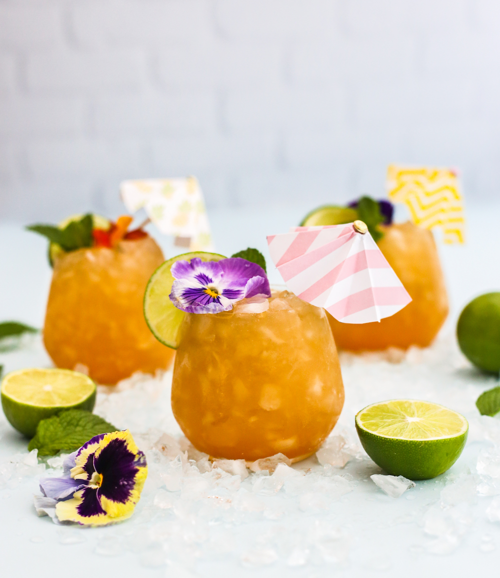 The Perfect Luau Drink and DIY
