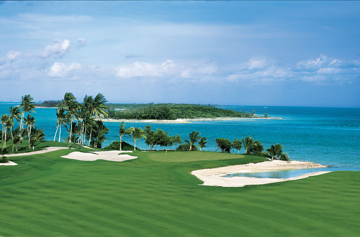 The Ocean Club Golf Course at Paradise Island, Bahamas