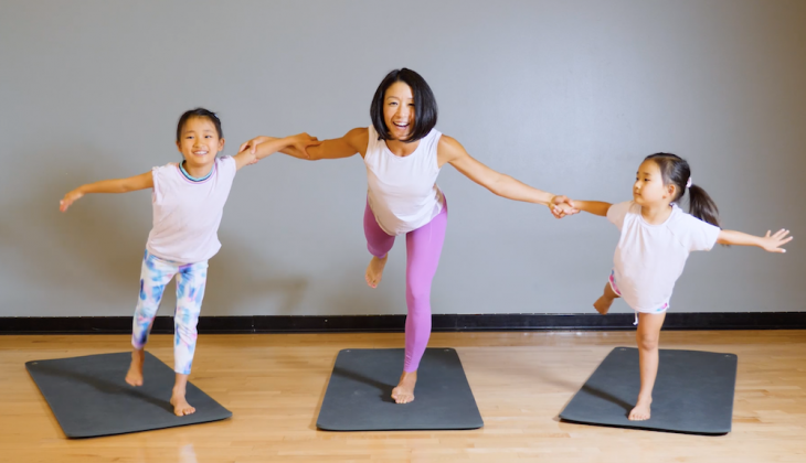 5 Yoga Poses to Try with Your Kids