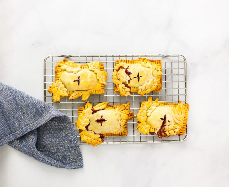 Love it or Leaf-it: Brie & Jam Hand Pie
