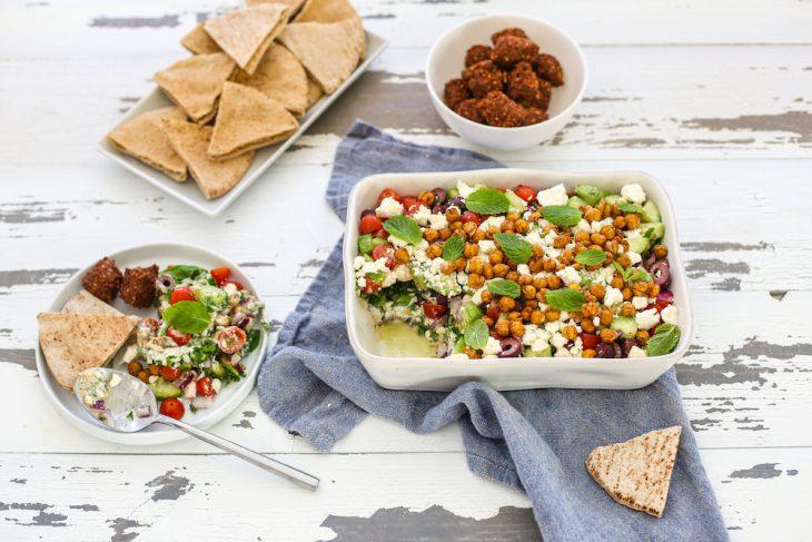 Healthy Big Game Snack: Greek 7 Layer Dip
