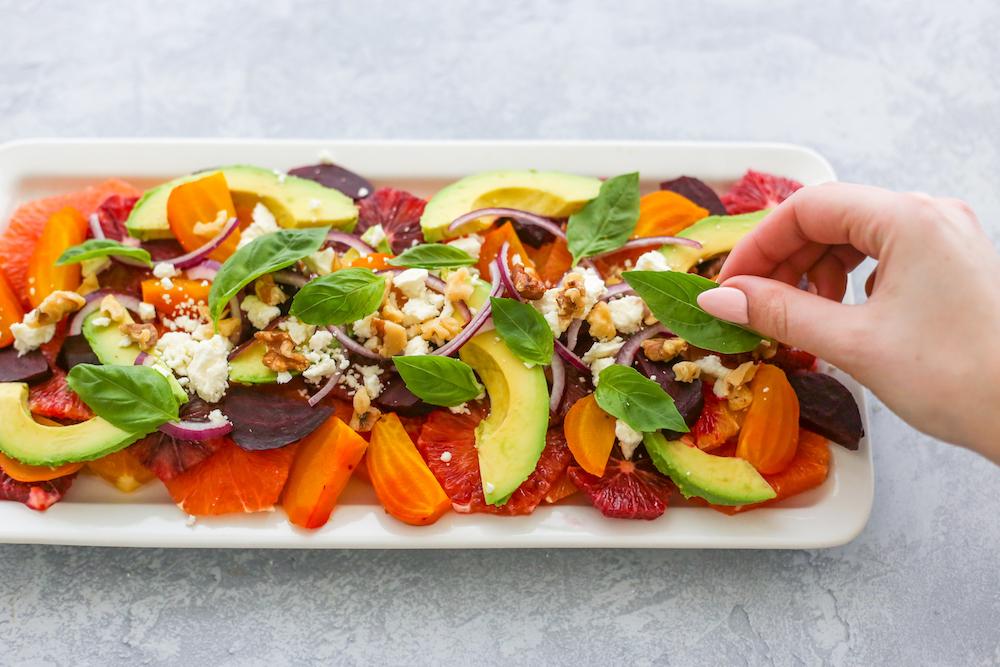 Orange you glad we Turned the Beet up: Roasted Beet & Citrus Salad