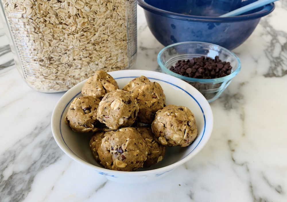 Chocolate Chip Protein Balls From Mindfull Nutrition