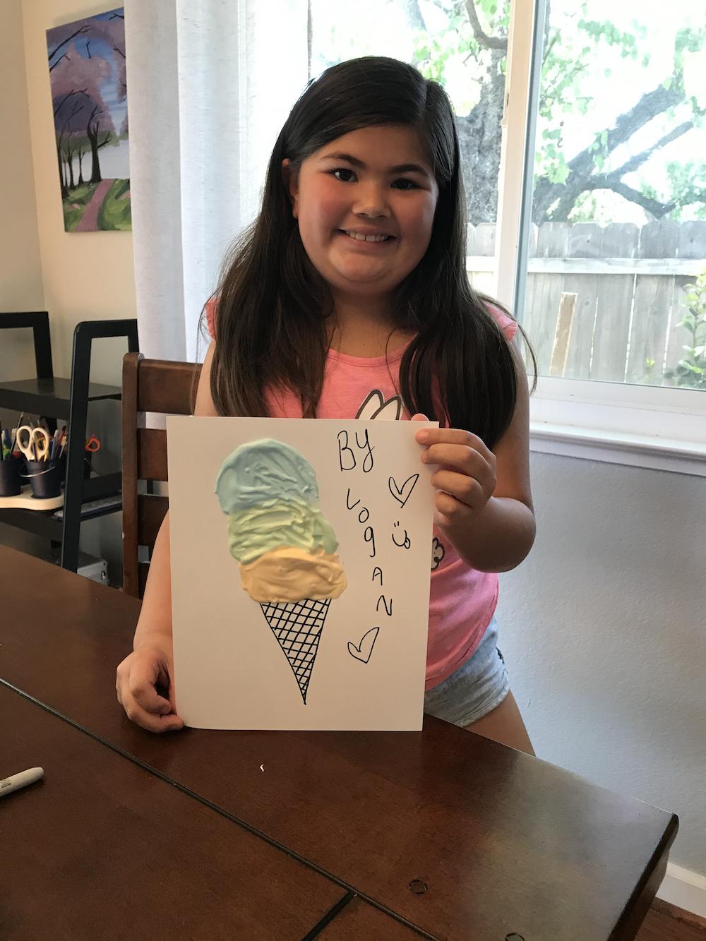 Family Fun: Cloud Paint with Logan