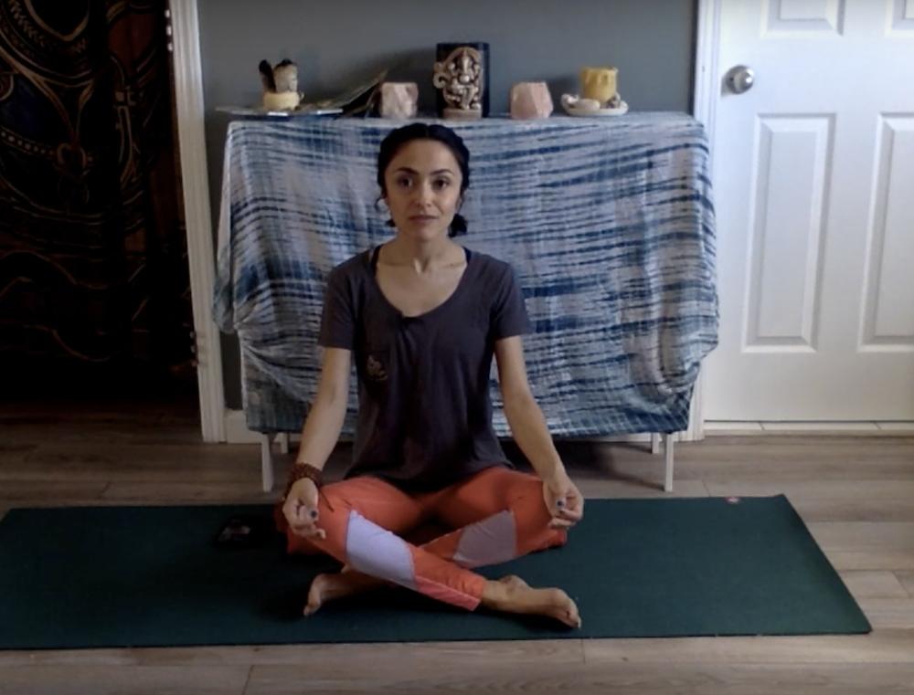 No Props? No Problem. Yoga and Meditation from Myrna