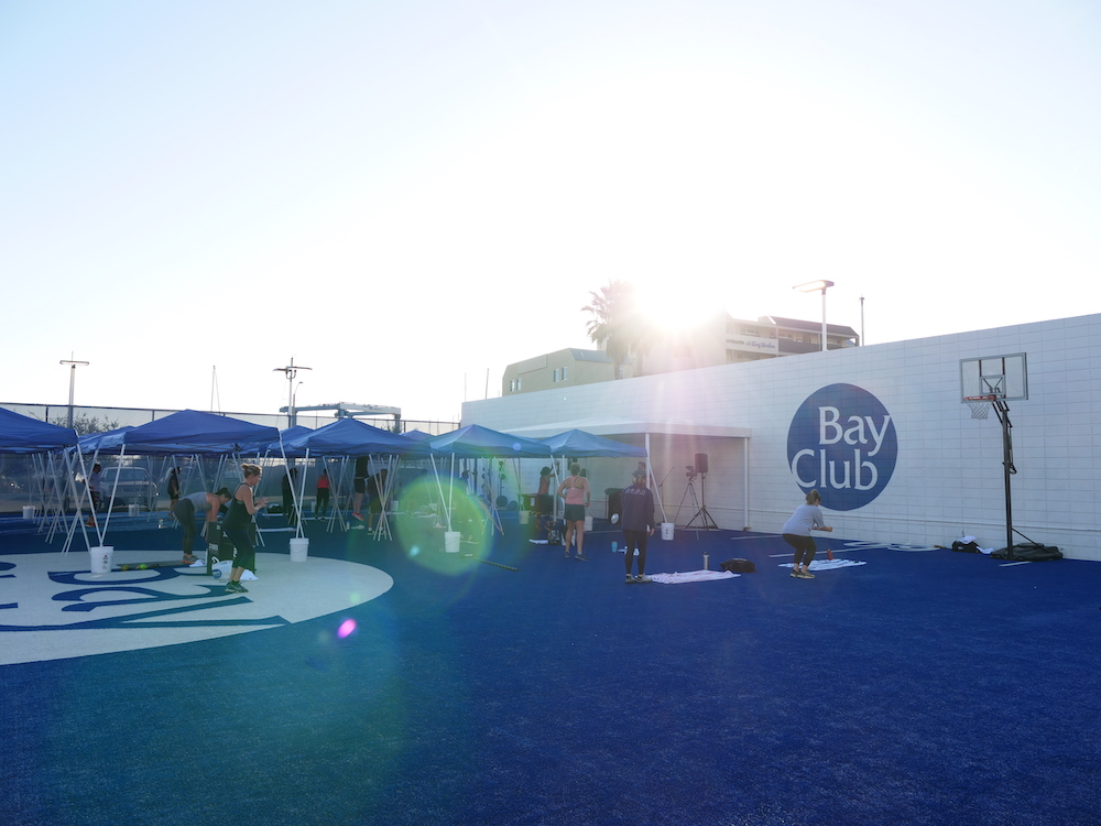 Get Out and Play the Bay Club Way