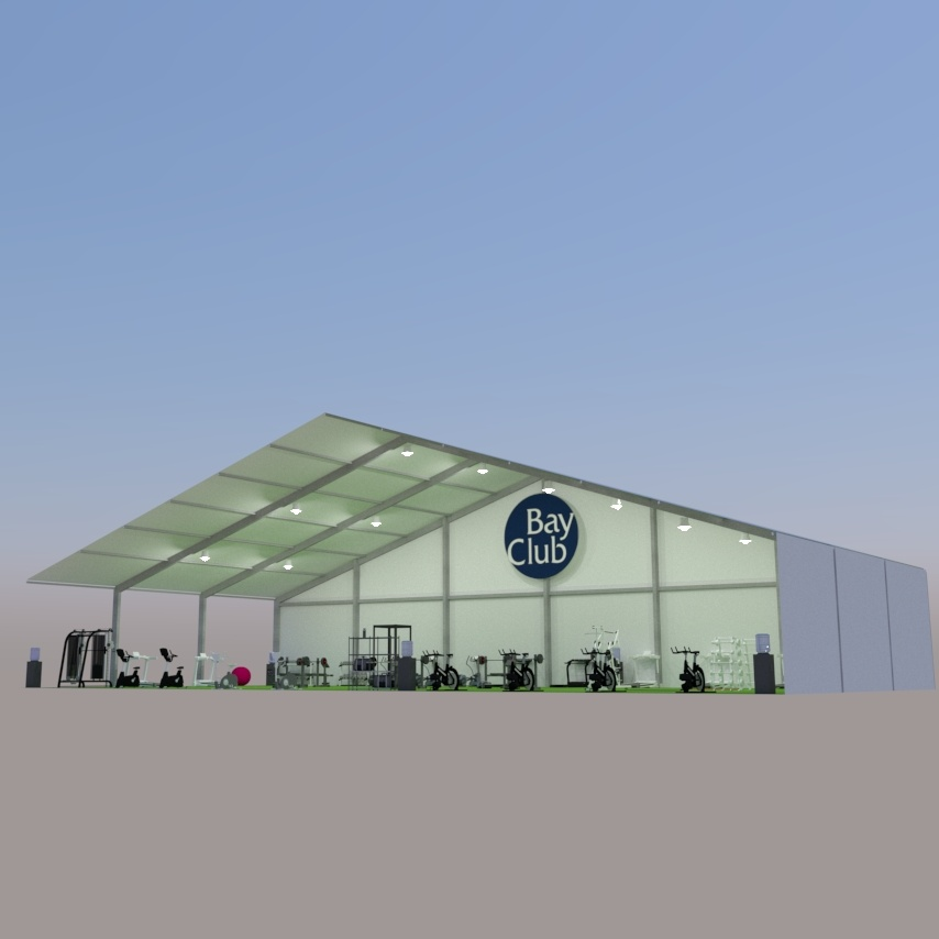 Fitness Pavilions Coming Soon